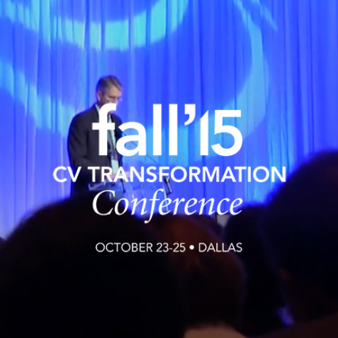 MedAxiom Fall 2015 CV Transformation Conference