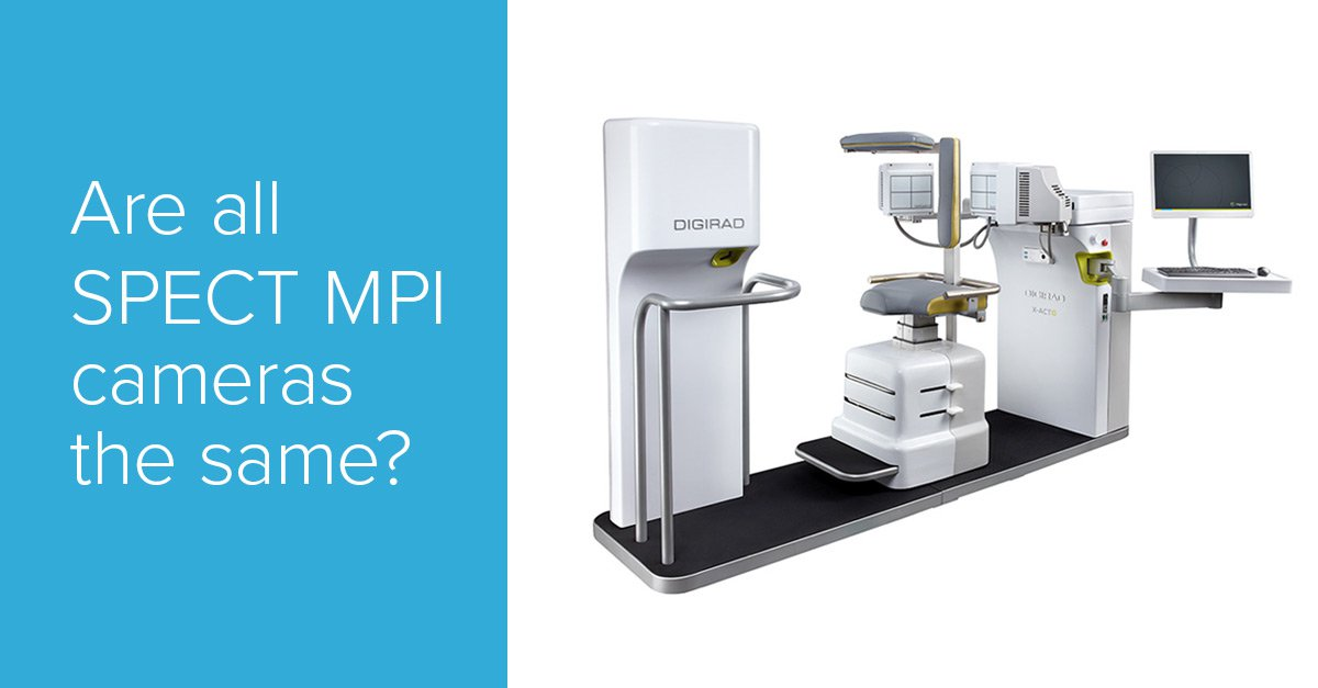 Are all SPECT MPI cameras the same? | Digirad Imaging