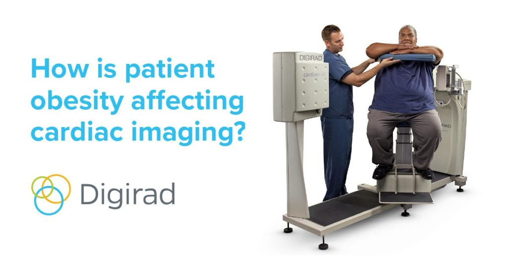 How is patient obesity affecting cardiac imaging?