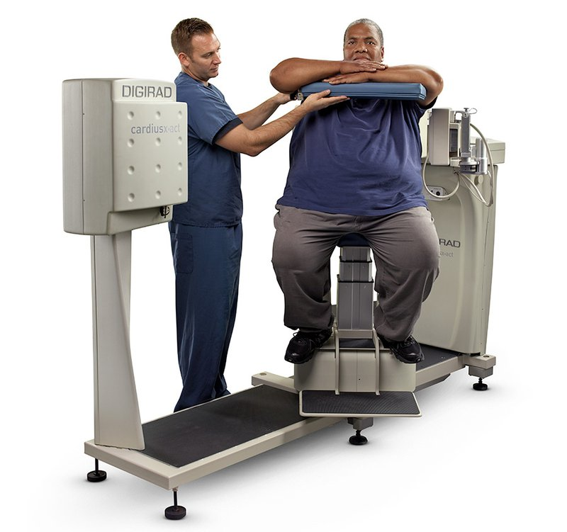 How to perform cardiac imaging on obese patients