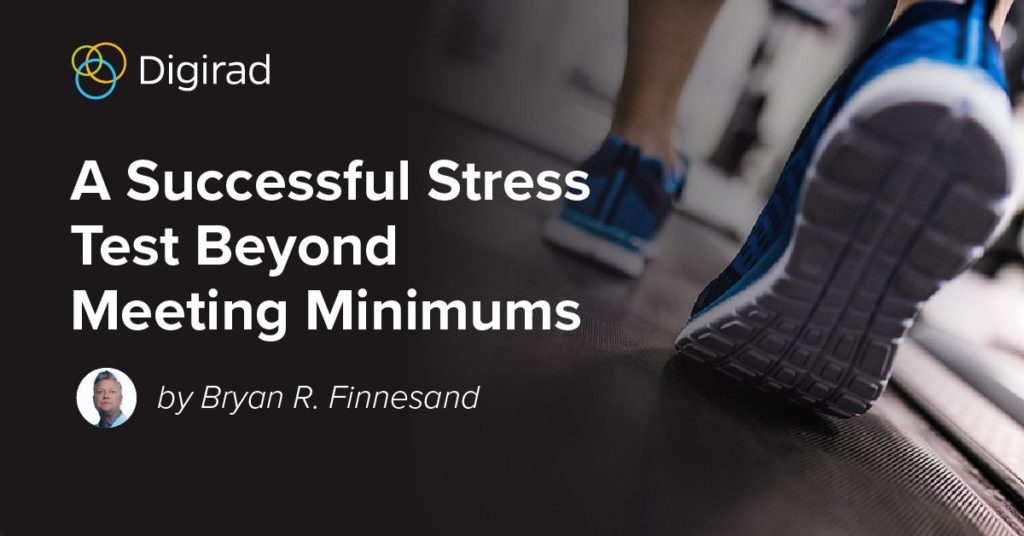 A Successful Stress Test Beyond Meeting Minimums