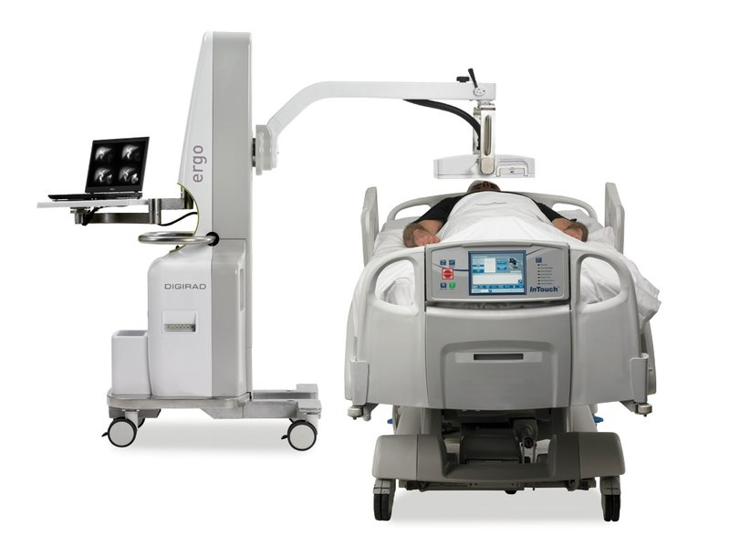 Point-of-care imaging with Digirad Ergo