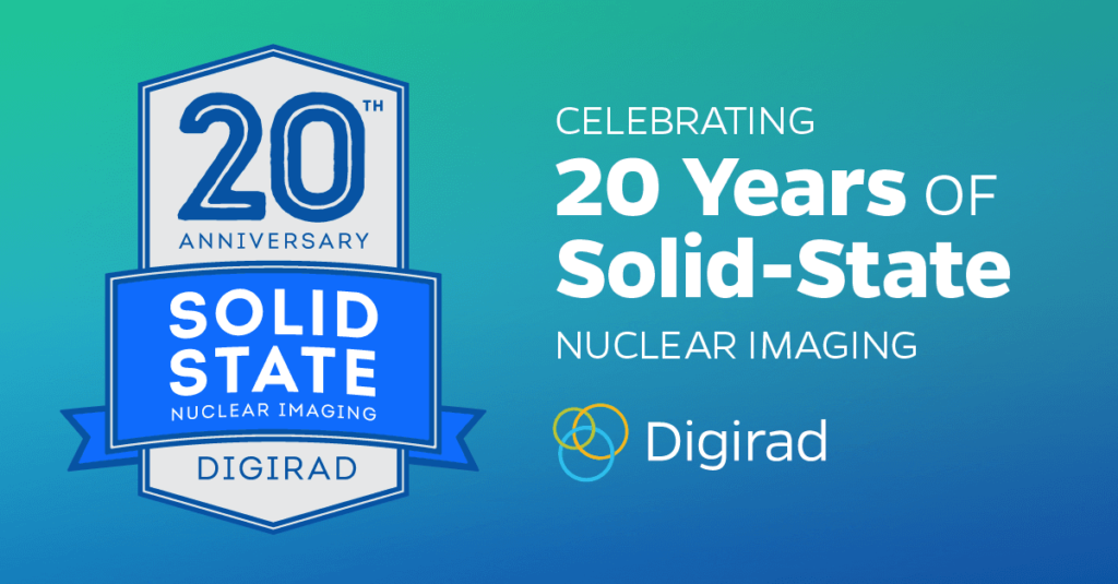 Digirad Celebrates the 20th Anniversary of the First Commercially Performed Solid-State Nuclear Medicine Scan