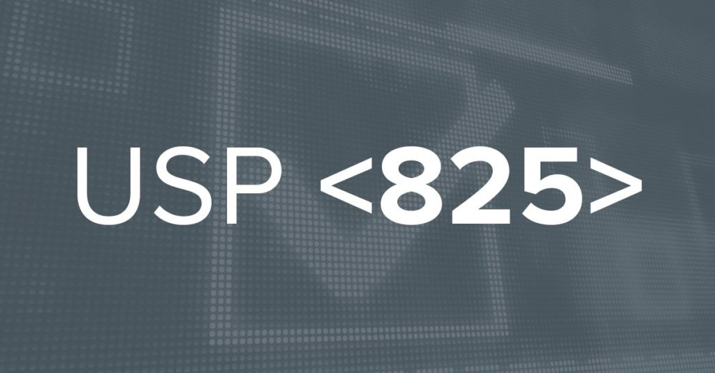 USP 825 standards
